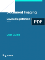 Device Registration Service Client User Guide