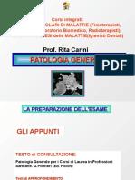 Patologia 1 Bianca Nuova, Area Tecnica 2014