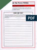 Tony Robbins - Unleash The Power Within Workbook.pdf