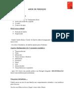 AMOR DE PERDIÇÃO Tópicos essenciais.docx