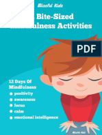 12 Bite Sized Mindfulness Activities