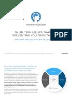 Tony Robbins - 16 limiting beliefs.pdf