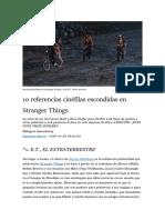 10 Referencias Cinéfilas Escondidas en Stranger Things