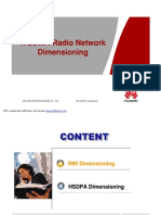 WCDMA Radio Network Dimensioning