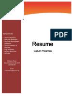 callum resume