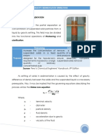 Sedimentation 1