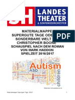 Materialmappe Supergute Tage - Mark Haddon