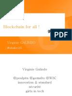 Blockchain for All