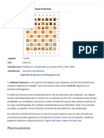Defensa Francesa - Wikipedia, La Enciclopedia Libre