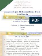 Intoxicação por medicamentos no Brasil e no mundo