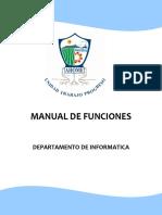 Manual de Funciones en Informatica