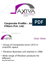 Corporate PPT Axiva