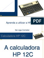 Aprendendo a Usar a Hp 12c Facil Iniciantes
