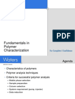 Fundamentals in Polymer Characterization
