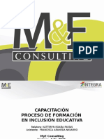 presentación Integra inclusión