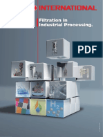 Filtration in Industrial Processing