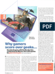 Cosmo-Gamers vs Geeks