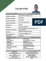 Currículum Vitae Roberth