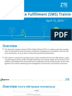 Zsmart OSS Service Fulfillment Training March 15,2016