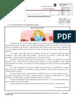 Evaluación Diagnóstica Lenguaje 2016