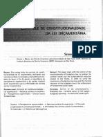 Controle de Constitucionalidade Da Lei Orcamentaria