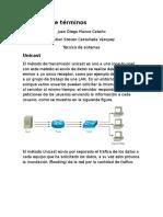Consulta de Términos e Identificacion de Redes