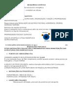 BIOQUÍMICA ESTÁTICA P1