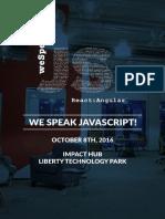 we speak js
