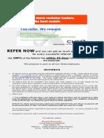 CheQ Referral Program Mechanics