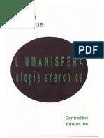 Joseph Dejacque - L'Umanisfera. Utopia Anarchica