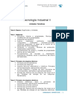 01 Temario Tecnología Industrial II