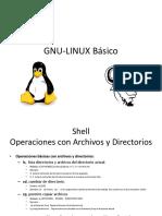 GNU-LINUX Básico Archivos Directorios