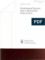 Westmeyer (Ed)-Psychological Theories From a Structuralist Point