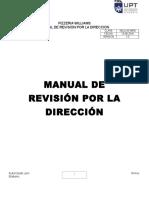 Manual de Revision Por La Direccion