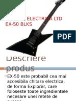Chitara Electrica LTD EX-50 BLKS