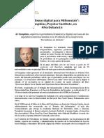 Periodismo digital para Millennials con Al Tompkins de Poynter Institute #PerDebate16