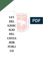 Ley de Ejercicio Del Contador Publico (2)