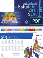 Calendario Saludable Senc 2016