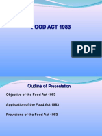 Food Act 1983