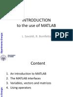 Lez Matlab