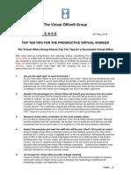 Virtual Office Group Top Ten Tips