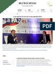 Boletín de noticias KLR 26OCT2016