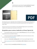 Sony Xperia Z5 Root
