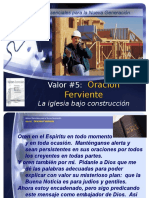 Valor #5-Oracion ferviente .ppt