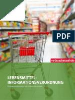 Lebensmittelinformationsverordnung Hintergrundinformation