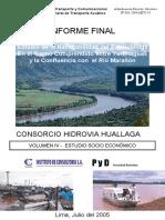 Estudio Socio Económico - Informe Final