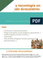 Ciencia y Tecnología en El Período Grecolatino (1)