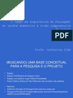 Campo Paisagismo Catharinalima