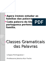 As 10 Classes Gramaticais 6º B