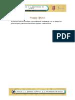 u1 p2 Proceso Editorial